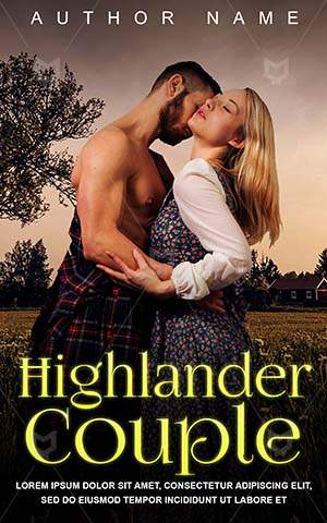 Romance-book-cover-Couple-Hold-Touch-Cute-Highlander-Togetherness-Pretty-Attractive-Scottish-Passion-Love