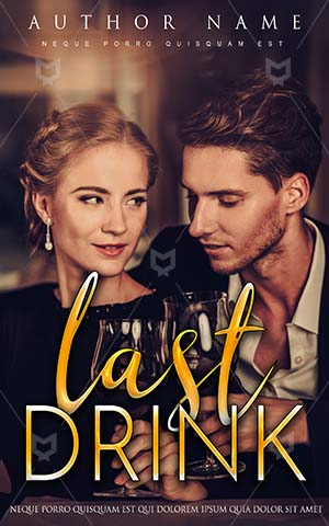 Romance-book-cover-Couple-in-Dinner-Book-Cover-Romantic-Night-Beautiful-Lovers-Premade-Covers-Drinking