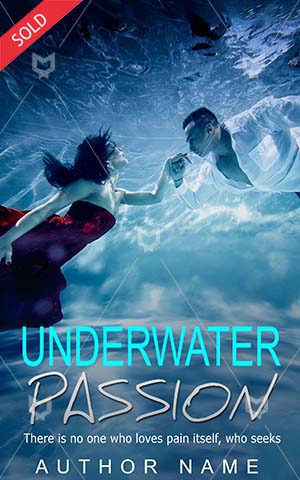 Romance-book-cover-Couple-Underwater-diving-Beautiful-woman-Book-romance-Fantasy-Water-Dream