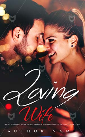 Romance-book-cover-dinner-wife-couple-romance-loving-kiss-romantic-premade-covers