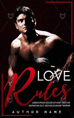 Romance-book-cover-Hot-guy-Muscular-Gentleman-Handsome-Rules-Love-Elegant-Bad-boy-Temptation-Attractive-Romantic