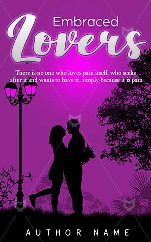 Romance-book-cover-Love-Park-Embrace-Outside-romance-Lovers-Embraced-Illustration-Book-Beautiful-Couple-Embarrassment
