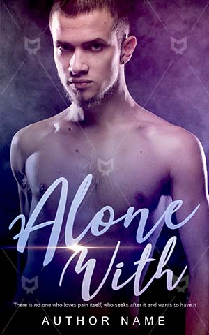 Romance-book-cover-Male-Dark-Muscular-Embrace-the-romance-Alone-Attractive-Handsome-Man-Expression-Romantic-design-Happy