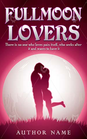 Romance-book-cover-Moon-Lovers-Couple-Love-Full-covers-Illustration-Space-Sky-Beautiful-Day-Night-Romantic