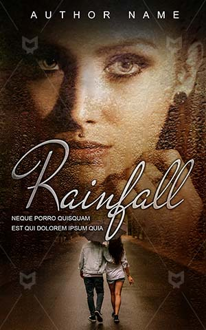 Romance-book-cover-Pretty-woman-Rainfall-Book-covers-for-girls-Couple-Female-Hot-Beautiful-Premade-romance-Sensual-Love
