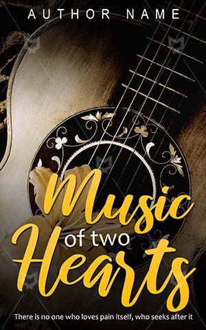 Romance-book-cover-Guitar-Music-design-Hearts-Vintage-guitar-Lily-Color-Instrument-Elements-Romantic-Sepia-Wooden