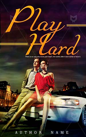 Romance-book-cover-Play-Couple-Hard-Romantic-designs-Young-Front-Limousine-Limo-Building-City-Woman-Lifestyle