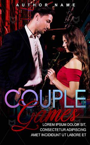 Romance-book-cover-Romantic-Couple-Games-Handsome-Cute-Love-Togetherness-Elegant-Beautiful