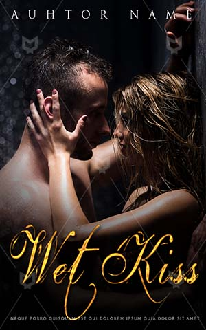 Romance-book-cover-Romantic-Wet-Couple-Beautiful-Lovers-Cover-Design-Dark-Room-Rain-Kissing-Kiss-Book