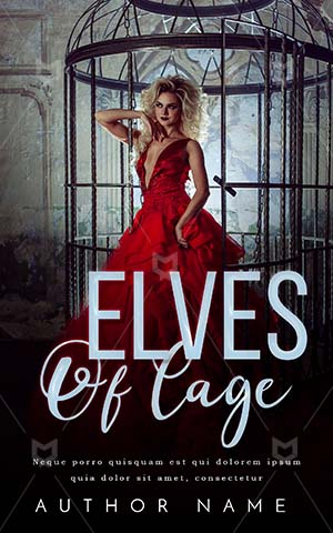 Romance-book-cover-Romantic-Woman-In-cage-Scary-Red-Dress-Release-Freedom-Beautiful-Fashion-blonde