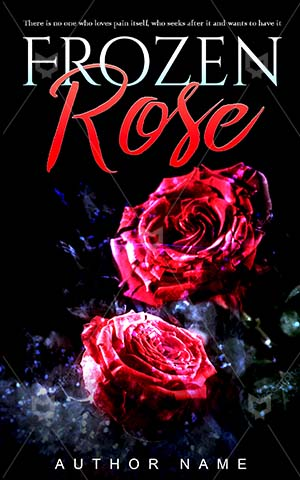 Romance-book-cover-Rose-Love-Story-Frozen-Book-with-rose-on-Red-Close-Pink-Beautiful-Celebration-Valentine-story-covers-Symbol