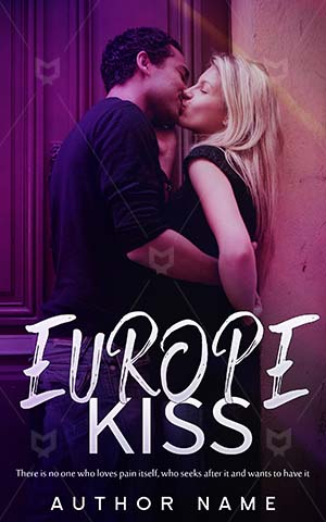 Romance-book-cover-Street-Europe-Kiss-Design-Beautiful-Valentine-Person-Love-Unseen-romance-Female-Young-Smiling-Adult