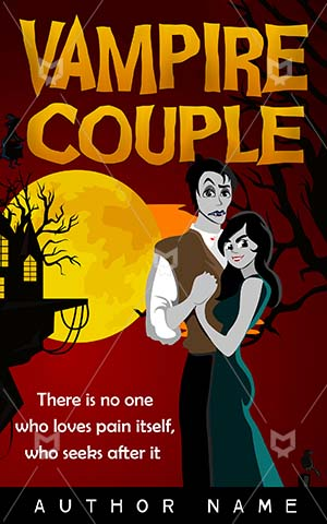 Romance-book-cover-Vampire-Fun-Nightlife-Couple-couple-tumblr-Night-Teeth-Horror-Gothic-Scary-Halloween-Handsome