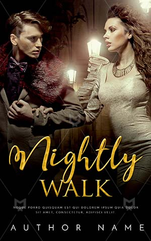 Romance-book-cover-Walk-With-Wife-Fashion-Night-Couple-Fashionable-Nightly-Make-love-Elegant-man-Girls-night-out-City-Romantic