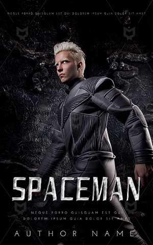 SCI-FI-book-cover-SpaceMan-space-universe