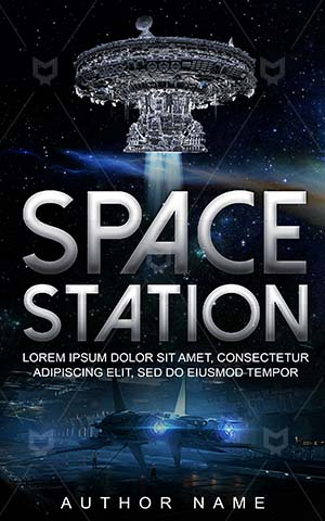 SCI-FI-book-cover-Technology-Sci-fi-covers-Exploration-Science-Control-room-Space-Base-Station