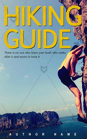 Sports-book-cover-Climbing-Guide-Woman-covers-rock-climber-Climber-Extreme-sports-Black-hair-Rock-wall-Summer-Success-Nature