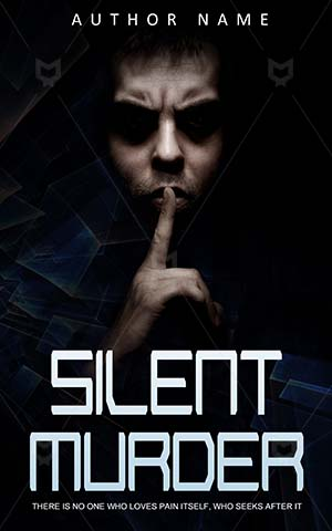 Thrillers-book-cover-silent-murder-scary