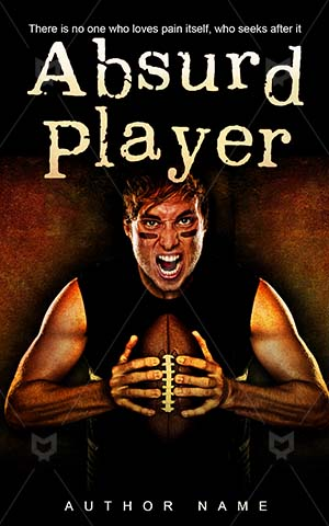 Thrillers-book-cover-crazy-player-football