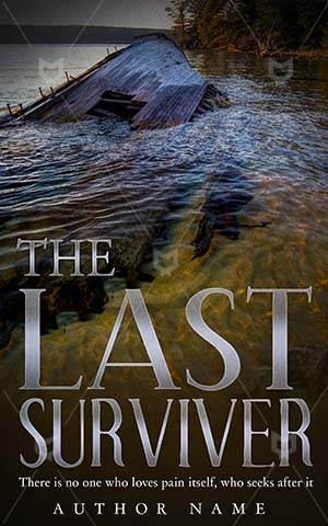 Thrillers-book-cover-Last-Surviver-ship
