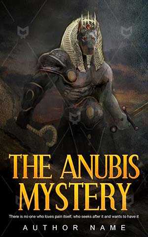 Thrillers-book-cover-Anubis-Creation-Ancient-design-Mystery-Mummy-God-Premade-covers-thriller-Pharaoh-Temple