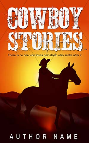 Thrillers-book-cover-Cowboy-Horse-riding-Stories-covers-Sun-Sunset-Illustration-Sky-Western-Riding-Rancher-Dusk-Hat-Texas
