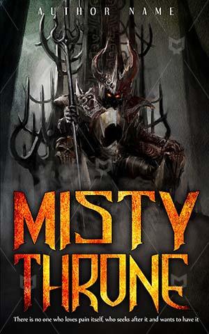 Thrillers-book-cover-Dark-King-Illustration-Anger-Angry-Bad-Evil-Thriller-covers-Demon-Mythology-Myth-Armored-Rules-Throne