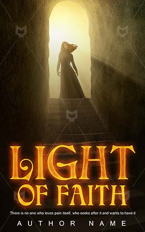 Thrillers-book-cover-Light-Tunnel-Stepping-stones-Bright-Stone-Fantasy-Glow-Premade-fantasy-covers-Doorway